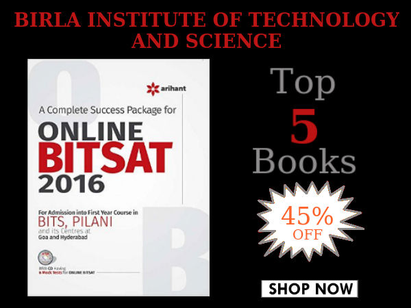 Are You Taking Up BITSAT? Save Upto 45% On These Top 5 Best Sellers