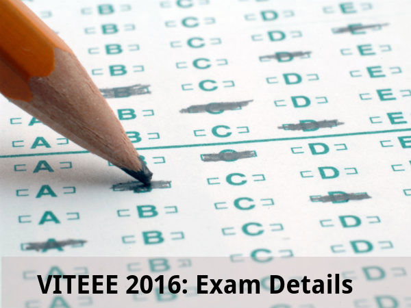 VITEEE 2016: Exam Details
