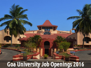 Goa Univ Recruiting for 7 Lab Asst & Other Posts