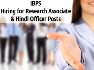 IBPS Recruitment for 4 Posts 2016