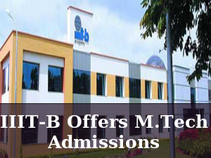IIIT Bangalore Offers M.Tech Admissions For 2016
