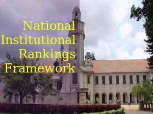 National Institutional Rankings Framework: Top 10