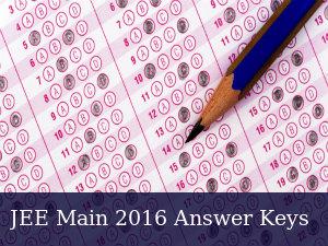 JEE Main 2016: Answer Keys Released