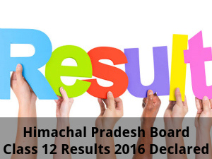 Himachal Pradesh Board Class 12 Results Announced
