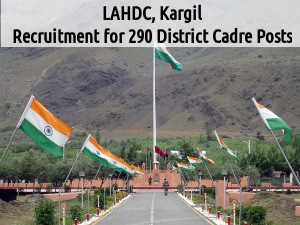 LAHDC, Kargil is Hiring for District Cadre Posts