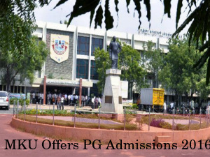 MKU Offers Admissions To PG Programmes