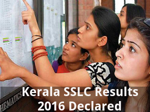 Kerala SSLC Results 2016 Announced