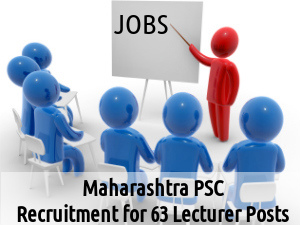 MPSC is Recruiting for 63 Lecturer Posts 2016