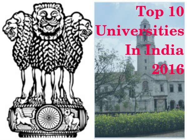 India Rankings 2016 - NIRF: Top 10 Universities