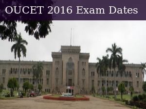 OUCET 2016: Exam Dates