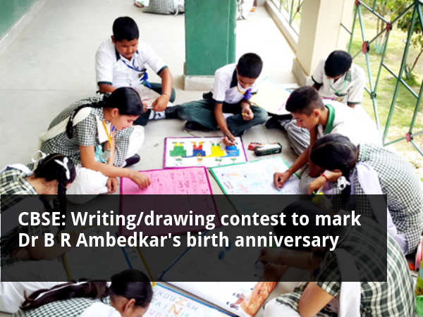 CBSE's writing/Drawing contest