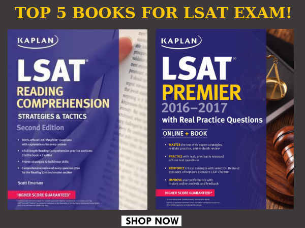 Ready To Take LSAT Exam? Top 5 Books You Need