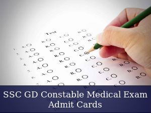 SSC Releases Constable Medical Exam Call Letter