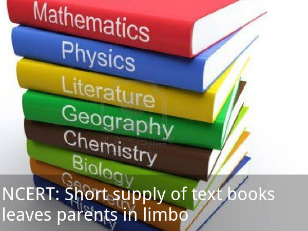 Short supply of books leaves parents in limbo