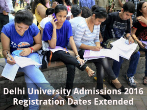 DU Registration Dates Extended