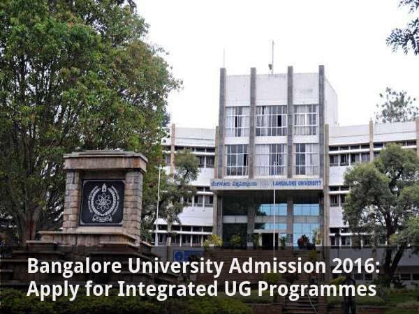 Bangalore University: Apply for Integrated UG