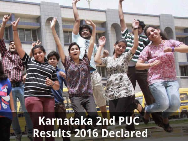 Karnataka 2nd PUC Results Declared