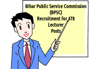 BPSC Recruiting for 478 Lecturer Posts 2016