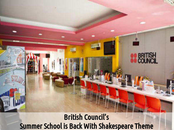 British Council Announced Summer School Course
