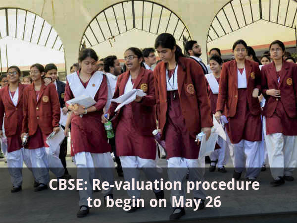 CBSE Class 12 Revaluation Begins on May 26