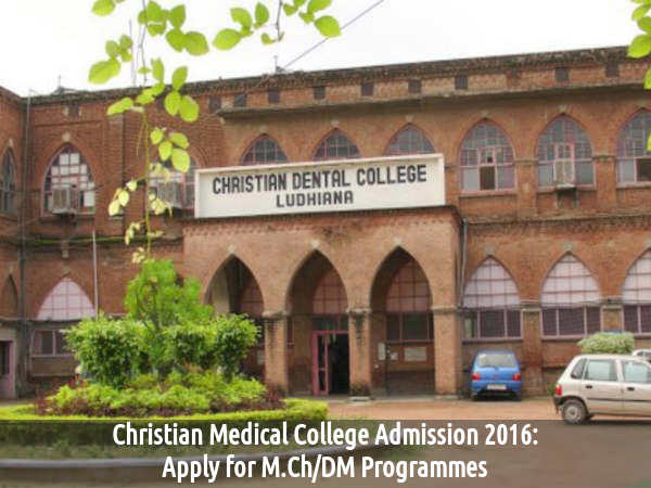 Christian Medical College Admissions