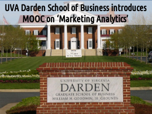 UVA Darden School of Business introduces MOOC
