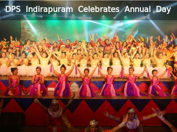 DPS Indirapuram Celebrates Annual Day