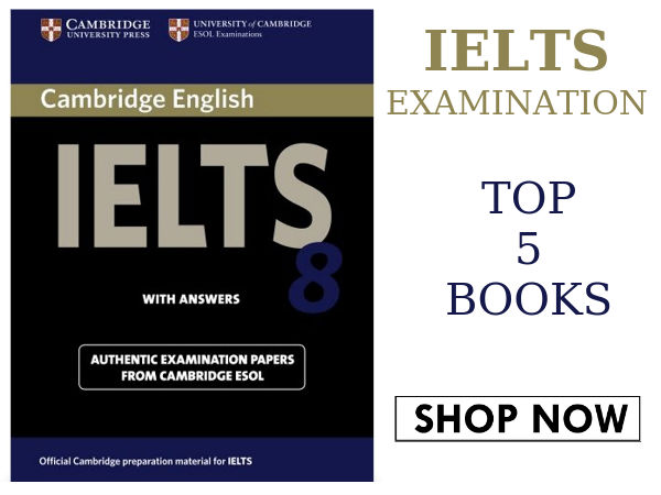 IELTS Examination: Top 5 Best Selling Books