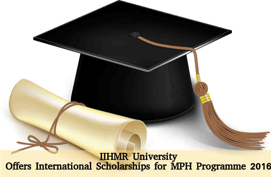 IIHMR University offers scholarships for MPH 2016