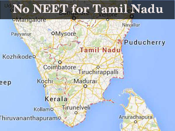 Jayalalithaa does not want NEET in Tamil Nadu