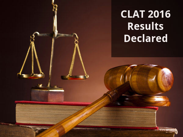 CLAT 2016 Results Declared