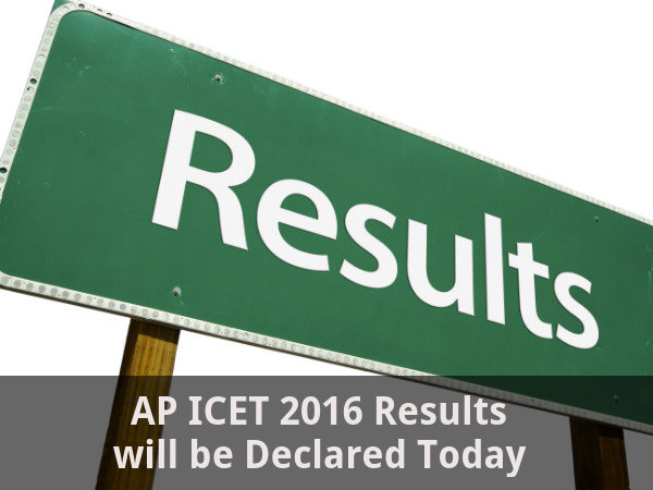 AP ICET Results 2016 Declared