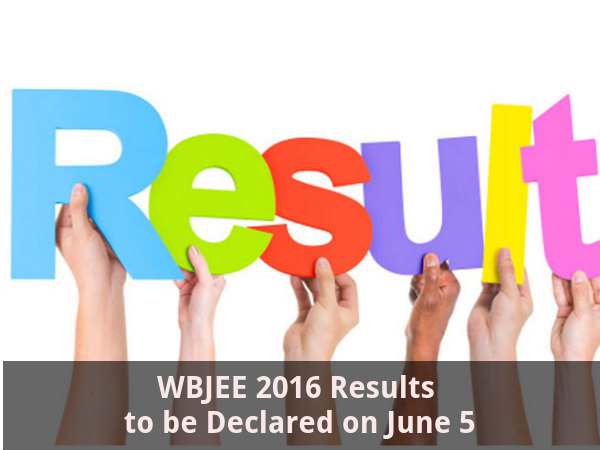 WBJEE 2016 Results to be Declared on June 5