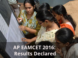 AP EAMCET 2016: Results Declared