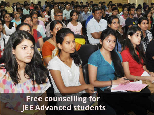 Free counselling for JEE Advanced students