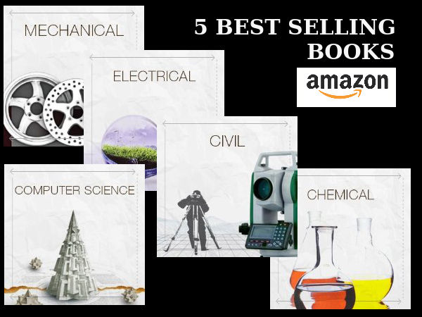 5 Best Selling Books at 'AMAZON' This Week
