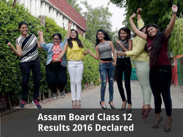 Assam Board Class 12 Results 2016 Declared