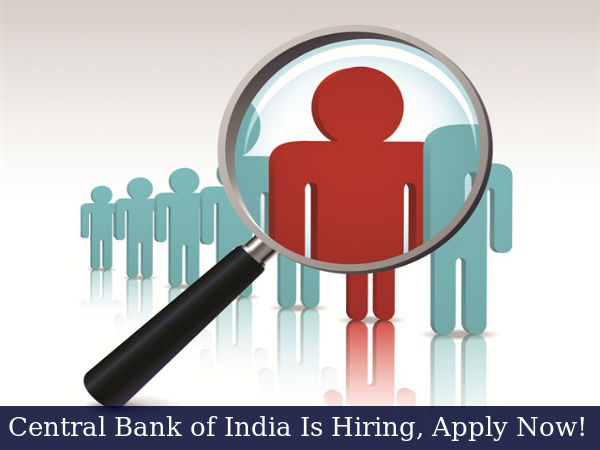 Central Bank of India is Hiring for Faculty Posts