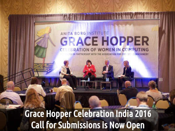 Grace Hopper Celebration India 2016