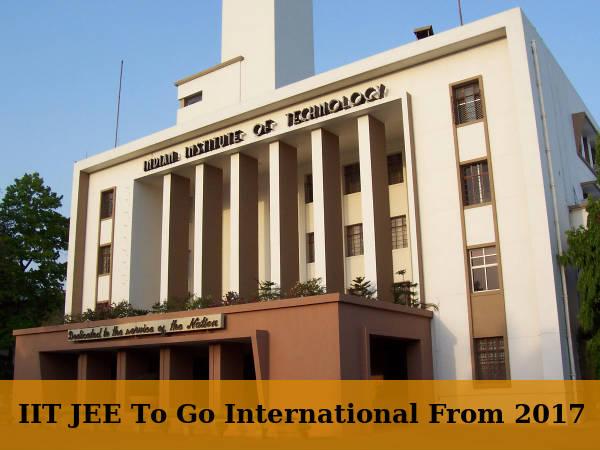 IIT JEE To Go International! Held In SAARC Nations