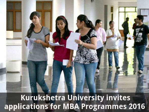 Kurukshetra University Offers Admission for MBA