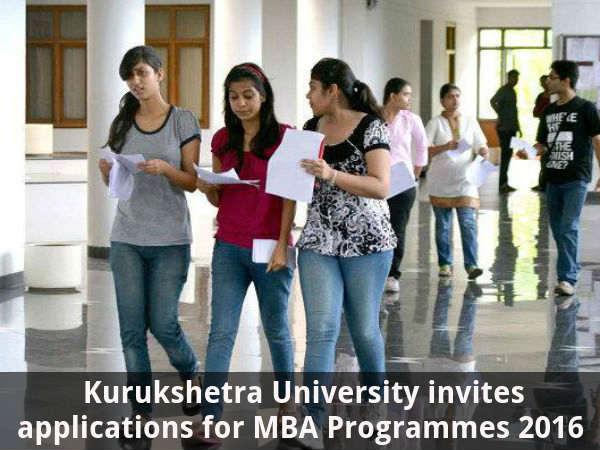 Kurukshetra University Offers Admission for MBA