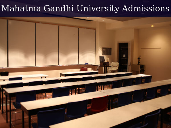 Mahatma Gandhi University Admissions 2016