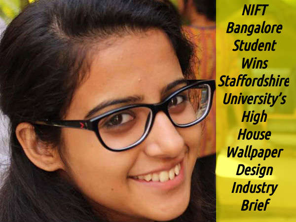 NIFT Bangalore Student Wins High House Wallpaper