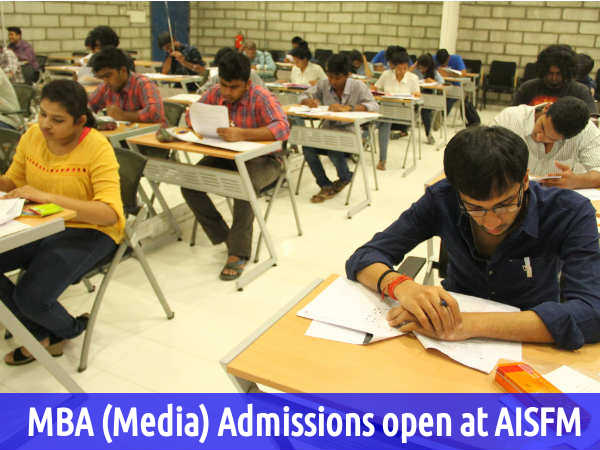 MBA (Media) Admissions open at AISFM
