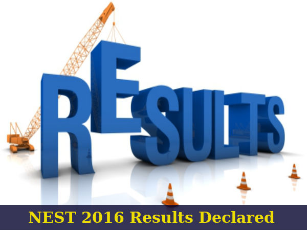 NEST 2016 Results Announced