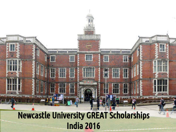 Newcastle University GREAT Scholarships, India