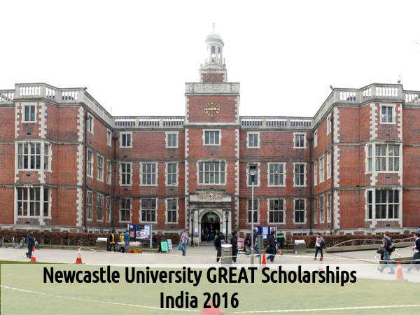 Newcastle University GREAT Scholarships, India