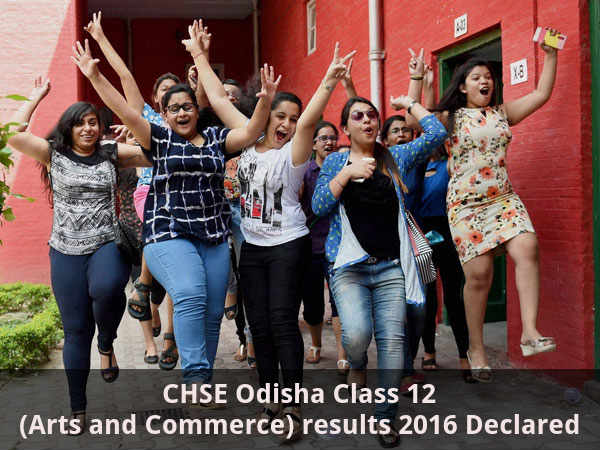 CHSE Odisha Class 12 results 2016 Declared