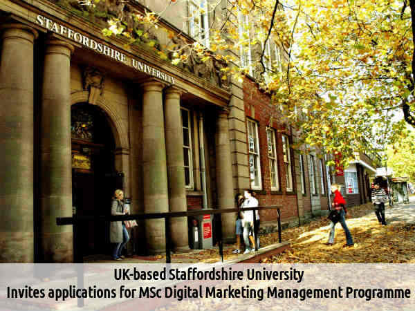 Uk-Based Staffordshire Univ Offers MSc Programme